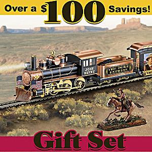 """The Duke Express"" HO-Scale Illuminated Electric Train Set"