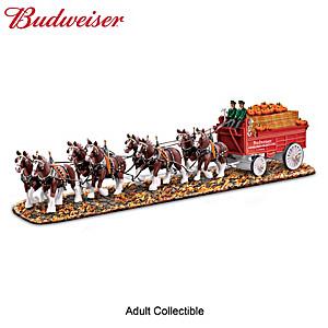 Budweiser Clydesdales Autumn Sculpture