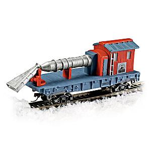 HO Track Compatible Jet Snow Blower Train Car