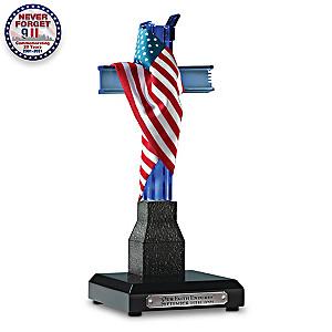 """""""Our Faith Endures"""" September 11 Commemorative Sculpture"""