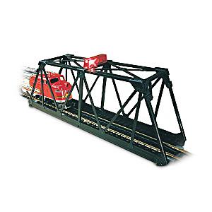 E-Z Track Blinking N Scale Trestle Bridge