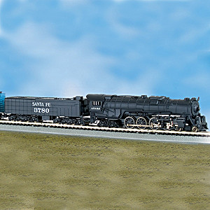 """""""The Empire Builder"""" 10-Car N-Scale Lighted Train Set"""