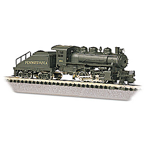 N Scale Pennsylvania Switcher Locomotive And Tender