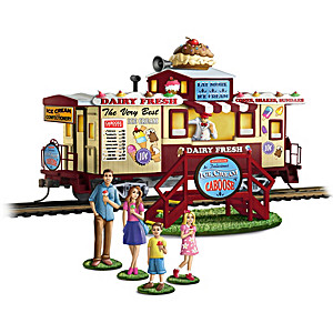 "HO-Scale ""Sweet Treats"" Train Car And Figurines Set"