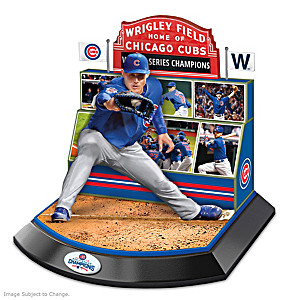 Chicago Cubs 2016 World Series Commemorative Sculpture