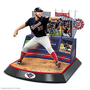 Nationals 2019 World Series Commemorative Sculpture