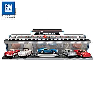Corvette - America's Sports Car Diecast Car Set With Display