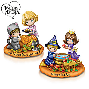 Precious Moments Halloween Figurine Set