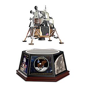 Apollo 11 Levitating Tribute Sculpture