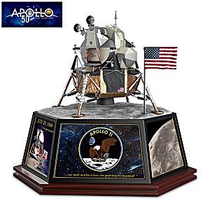 Apollo 11 Tribute Sculpture With Sound