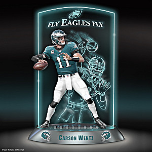 Philadelphia Eagles Carson Wentz Lighted Sculpture