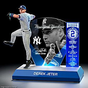 """MLB Luminaries: Derek Jeter"" Lighted Tribute Sculpture"