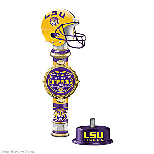 2019 Football National Champions LSU Sculpted Tap Handle