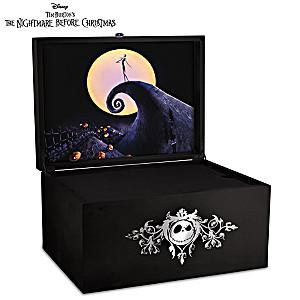 The Nightmare Before Christmas Glow-In-The-Dark Keepsake Box
