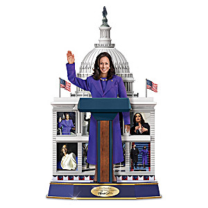 Vice President Kamala Harris Figure Plays Her Actual Voice