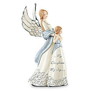 """My Daughter, My Joy"" Musical Porcelain Figurine"