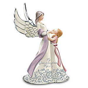 """My Granddaughter, My Joy"" Musical Figurine"