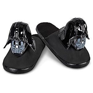 STAR WARS Darth Vader Plush Slippers For Adults