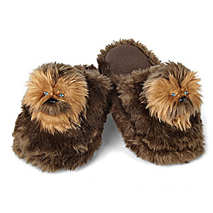 STAR WARS Chewbacca Plush Slippers For Adults