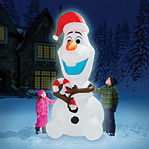 Disney FROZEN 8' Inflatable Olaf