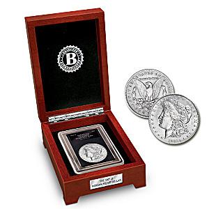 The Only 1921 Denver Morgan Silver Dollar Coin