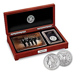 The 1881-S Morgan Tombstone Silver Dollar Coin