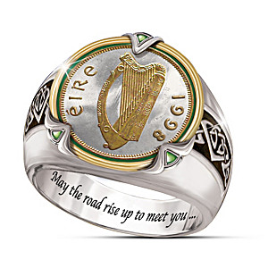 Irish Coin Men's Ring