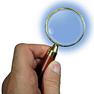 Magnifying Glass With Rosewood Handle