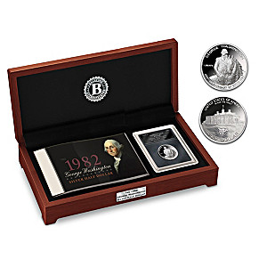 The First Modern Silver Commemorative Coin With Deluxe Case