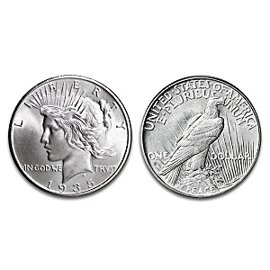 "The Only 1935 ""4 Ray"" Peace Silver Dollar"