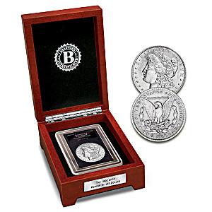 Rare 1900 Double Mint-Mark Morgan Silver Dollar Coin