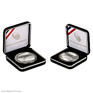 2014 Baseball Hall Of Fame Silver Dollar: First Curved Coin