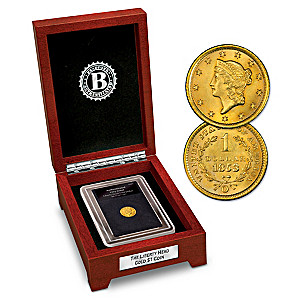 America's 1st 90% Gold Dollar Coin: Minted 1849-1853
