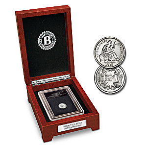 The First U.S. Silver Coin Denomination: Half Dime & Display