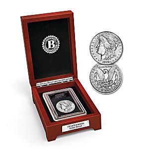 The 1879 Error Morgan Silver Dollar Coin With Display Box