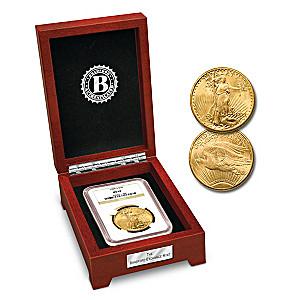 Brilliant Uncirculated $20 Saint-Gaudens Gold Coin