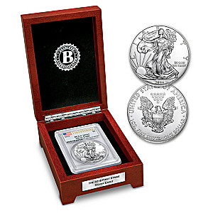 The First Strike 2016 American Eagle Silver Dollar: MS69
