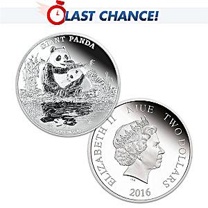 99.9% Silver Giant Panda Coin
