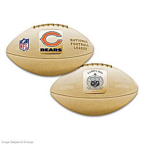 World's First Chicago Bears 3D Football Coin