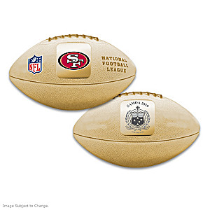 World's First San Francisco 49ers 3D Football Coin