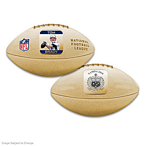 World's First Tom Brady 3D Football Coin