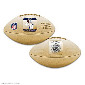 World's First Dak Prescott 3D Football Coin