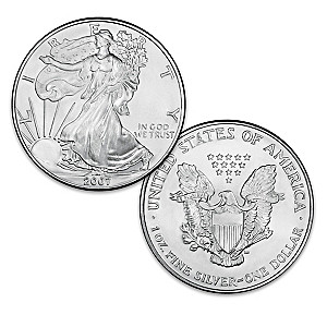 The Last-Ever Original Silver Bullion Eagle Dollar Coin