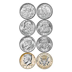 JFK 100th Anniversary Silver Half Dollar Special Edition