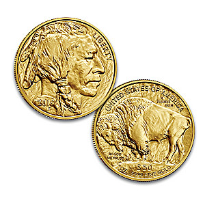 The 2019 PCGS MS-70 First Strike $50 Gold Buffalo Coin