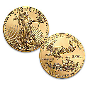 2020 $50 American Eagle 22K-Gold One Ounce MS-70 Coin