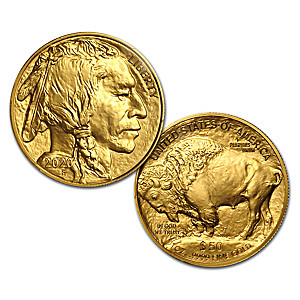2020 $50 American Buffalo 24K Gold MS-70 Bullion Coin