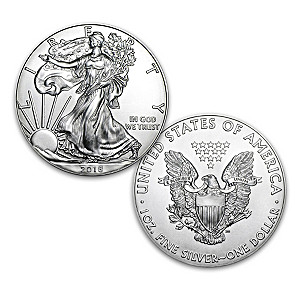 """First Strike"" 2018 American Eagle Silver Dollar Coin"
