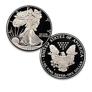 The Official First-Ever Proof Silver Eagle Coin