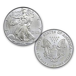 The 1996 Rarest Year Of Issue American Eagle Silver Dollar